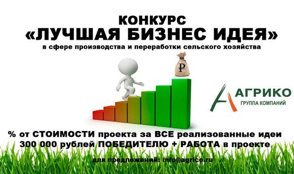 Бизнес идеи производство сельское бизнес план дошкольного учреждения